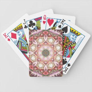 Baralhos De Poker Mandalas do coração da liberdade 26 presentes