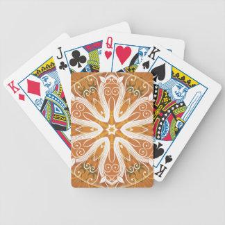 Baralhos De Poker Mandalas do coração da liberdade 6 presentes