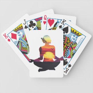 Baralhos De Poker Meditação da ioga