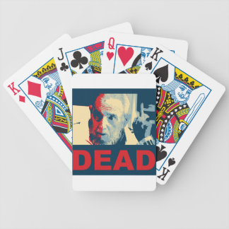 Baralhos De Poker Morto de Castro (cores da esperança)