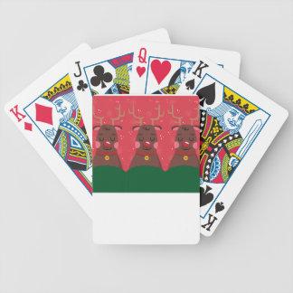 Baralhos De Poker Natal da rena