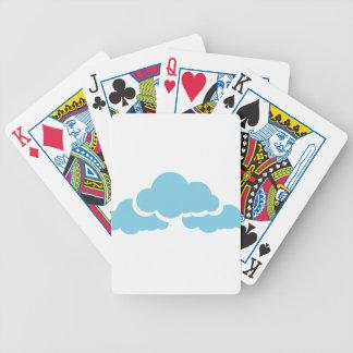 Baralhos De Poker Nuvens azuis