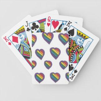 Baralhos De Poker O amor é teste padrão do coração do amor
