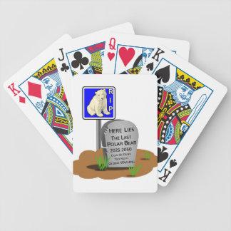 Baralhos De Poker O aquecimento global, RASGA o urso polar 2050