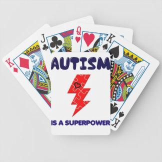 Baralhos De Poker O autismo é superpotência, mente mental da saúde