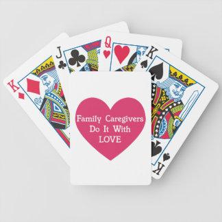 Baralhos De Poker Os cuidadors de família fazem-no com amor