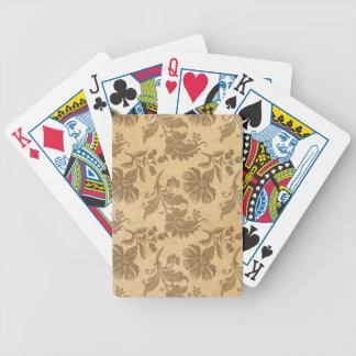 Baralhos De Poker Padrões de flor abstratos do outono/queda