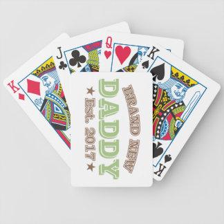 Baralhos De Poker Pai brandnew Est. 2017 (verde)