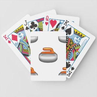 Baralhos De Poker Pedra de ondulação de Emoji