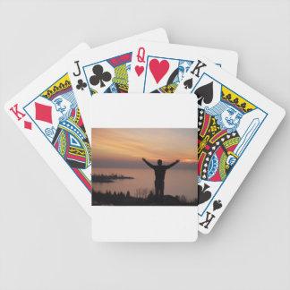Baralhos De Poker Penhasco do por do sol