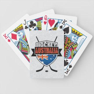 Baralhos De Poker Plataforma de cartão australiana do logotipo da