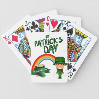 Baralhos De Poker Presentes do Dia de São Patrício