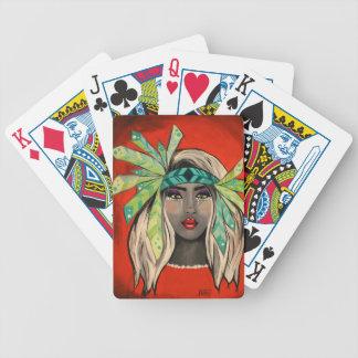 Baralhos De Poker Princesa de turquesa