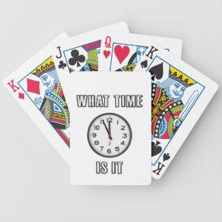 Baralhos De Poker quando é, pulso de disparo