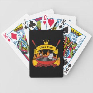 Baralhos De Poker Rei da grade