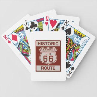 Baralhos De Poker Rota 66 de Carthage