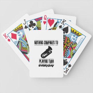 Baralhos De Poker Tendendo o design do jogador da tuba