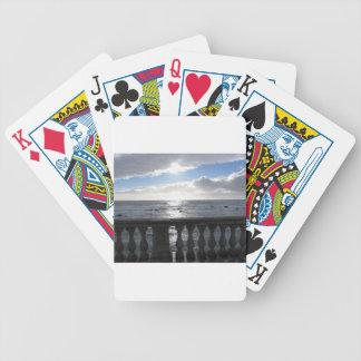 Baralhos De Poker Terraço que negligencia o mar