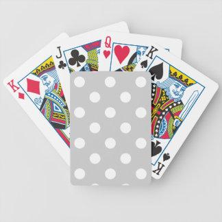 Baralhos De Poker Teste padrão de bolinhas cinzento