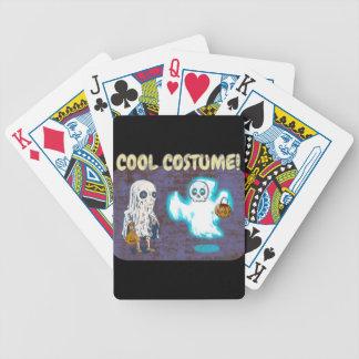 Baralhos De Poker Traje do fantasma e do esqueleto