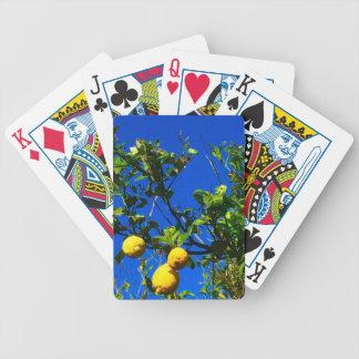 Baralhos De Poker Três limões sicilianos