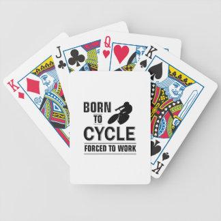 Baralhos De Poker Tshirt do ciclismo