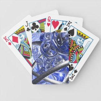 Baralhos De Poker Vidro e fitas de aço macro