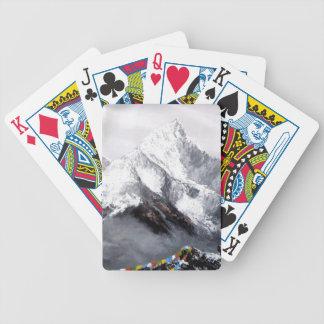 Baralhos De Poker Vista panorâmica da montanha de Everest