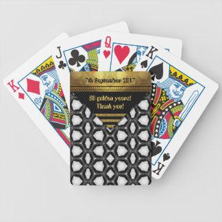 Baralhos De Pôquer 50 anos dourados! Obrigado!