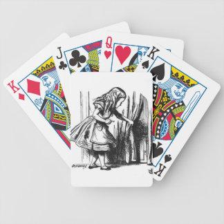 Baralhos De Pôquer Alice encontra uma porta