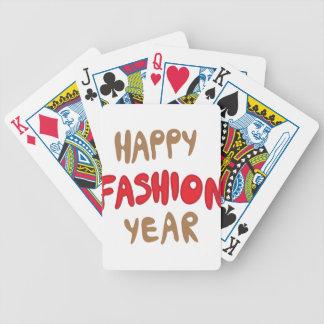 Baralhos De Pôquer Ano feliz da forma