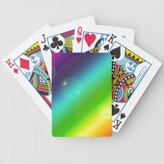 Baralhos De Pôquer Arco-íris borbulhante