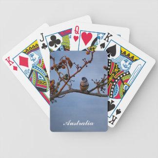 Baralhos De Pôquer cartões de jogo Dobro-barrados do passarinho