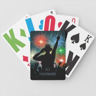 Baralhos De Pôquer Cartões de jogo feitos sob encomenda do texto do
