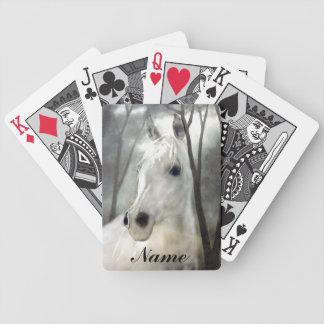 Baralhos De Pôquer Cavalo branco