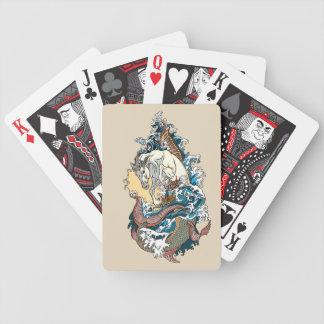 Baralhos De Pôquer cavalo marinho mitológico