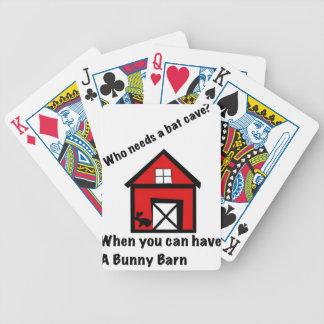 Baralhos De Pôquer Celeiro do coelho