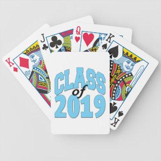 Baralhos De Pôquer Classe do azul 2019