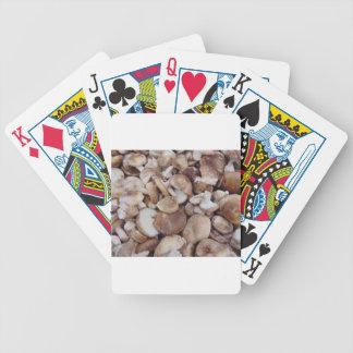 Baralhos De Pôquer Cogumelos de Shiitake