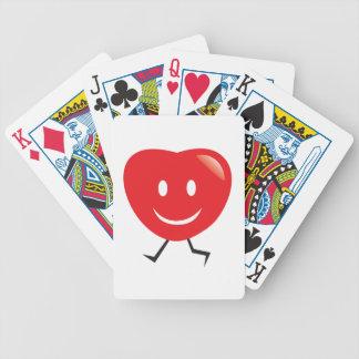 Baralhos De Pôquer coração de passeio