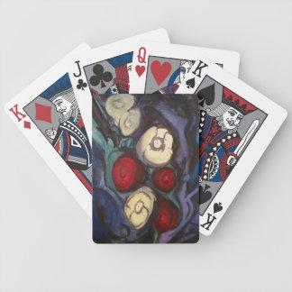 Baralhos De Pôquer Cravos a um grupo fúnebre de cartões