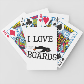 Baralhos De Pôquer Eu amo deslizar os conselhos