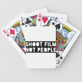 Baralhos De Pôquer Filme do tiro, não pessoas!