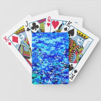Baralhos De Pôquer Fundo das chamas azuis