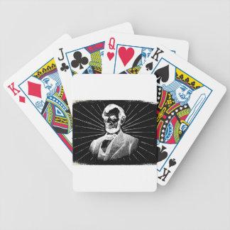 Baralhos De Pôquer grunge Abraham Lincoln