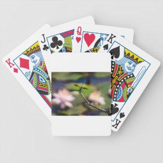 Baralhos De Pôquer Handstand da libélula pela fotografia de Erina