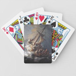 Baralhos De Pôquer Mar dos discípulo de Jesus de cartões de jogo da