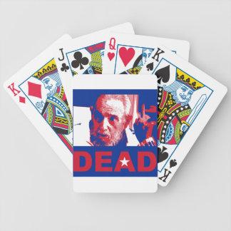 Baralhos De Pôquer Morto de Castro (cores da Cubano-bandeira)