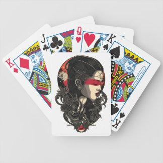 Baralhos De Pôquer Mulher da ascensão Sun