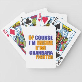 Baralhos De Pôquer Naturalmente eu sou lutador de Chanbara
